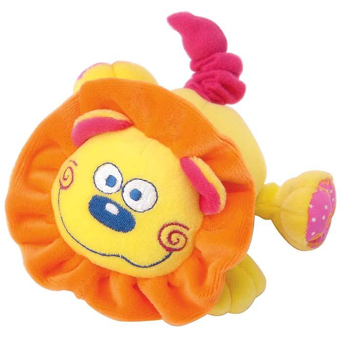 Мягкая игрушка Львенок33237Яркая мягкая игрушка Львенок понравится вашему малышу и не позволит ему скучать! Игрушка выполнена в виде очаровательного львенка из текстильных материалов различных фактур желтого, розового и оранжевого цветов. Стоит только потянуть за хвостик львенка, и игрушка начнет вибрировать и забавно смеяться до тех пор, пока хвостик не вернется в исходное положение. Яркая веселая игрушка поможет ребенку познакомиться с новым ощущением вибрации, развить мелкую моторику рук, зрительное и слуховое восприятие, тактильные ощущения и координацию движений, а милый жизнерадостный образ подарит малышу хорошее настроение!