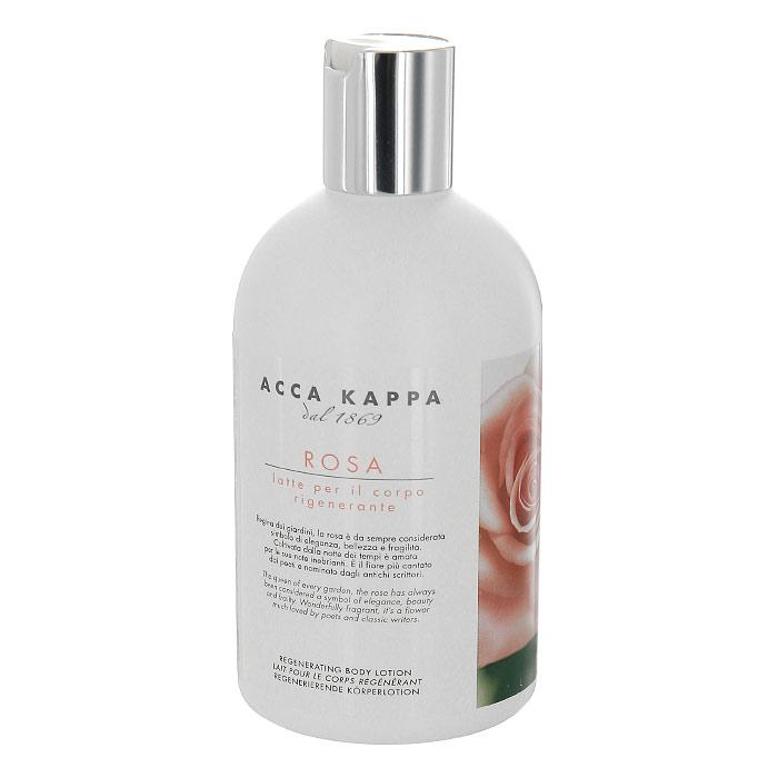 """Молочко для тела Acca Kappa """"Роза"""", восстанавливающее, 300 мл 853123"""