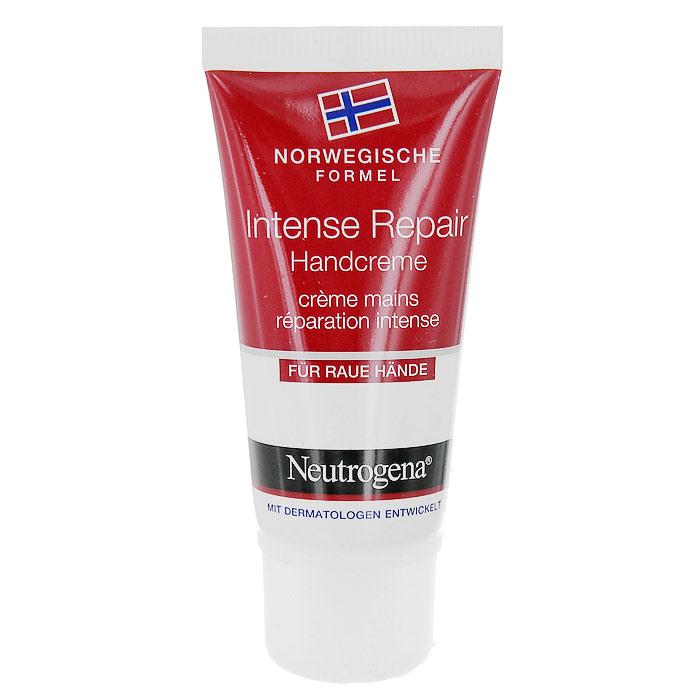 Крем для рук Neutrogena Интенсивное восстановление, 15 мл39027Крем для рук Neutrogena Интенсивное восстановление восстанавливает и защищает даже очень сухую, потрескавшуюся или обветрившуюся кожу рук уже после первого применения. Благодаря уникальной Норвежской формуле содержащей витамин В5, пантенол и экстракт ромашки, крем эффективно восстанавливает, смягчает и обеспечивает гладкость даже очень сухой и поврежденной кожи рук. Обладает нежирной, быстро впитывающейся текстурой.