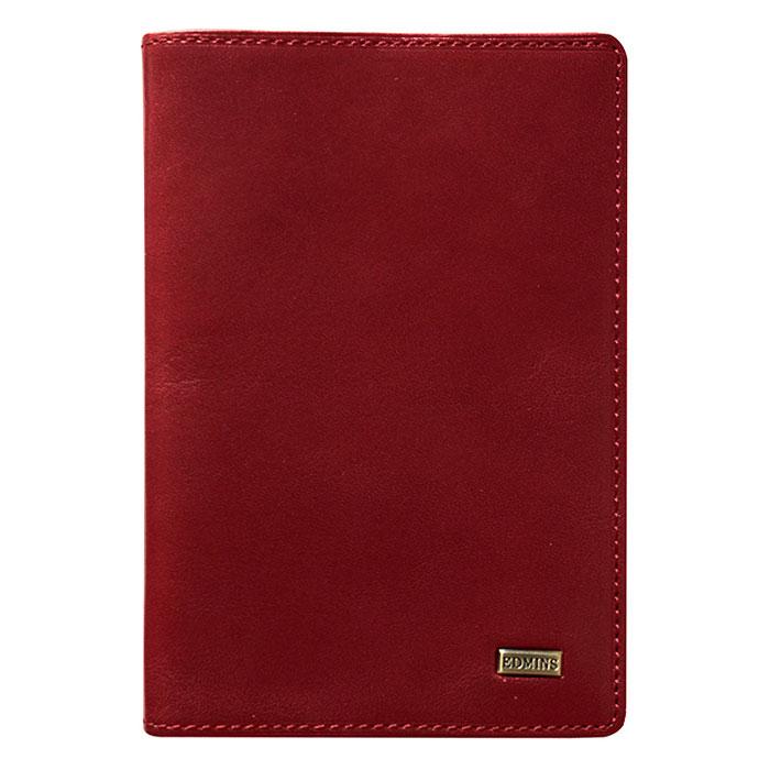 Обложка для паспорта Edmins, цвет: красный. 302 ML ED302 ML ED redОбложка для паспорта выполнена из натуральной кожи красного цвета. Внутри состоит из отделения для паспорта и одного отделения для пластиковых карт или визиток. Такая обложка не только поможет сохранить внешний вид ваших документов и защитить их от повреждений, но и станет стильным аксессуаром, идеально подходящим вашему образу. Обложка для паспорта станет замечательным подарком человеку, ценящему качественные и практичные вещи. Обложка упакована в фирменную коробку. Характеристики: Материал: натуральная кожа, металл. Размер (в закрытом виде): 14 см x 10 см. Цвет: красный. Размер упаковки: 16,5 см x 11 см x 3 см. Изготовитель: Италия. Артикул: 302 ML ED.