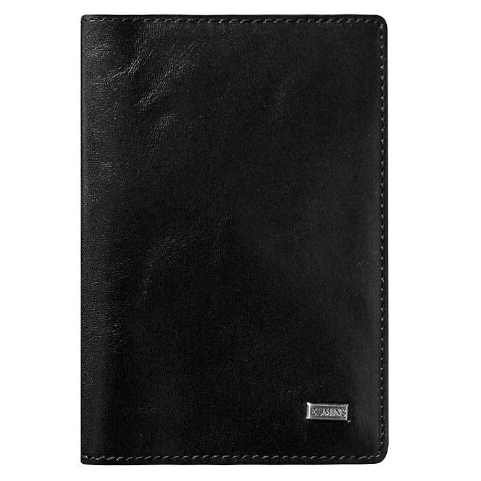 Обложка для паспорта Edmins, цвет: черный. 302 ML/1N ED302 ML/1N ED blackОбложка для паспорта выполнена из натуральной кожи черного цвета. Такая обложка не только поможет сохранить внешний вид ваших документов и защитить их от повреждений, но и станет стильным аксессуаром, идеально подходящим вашему образу. Обложка для паспорта станет замечательным подарком человеку, ценящему качественные и практичные вещи. Обложка упакована в коробку.