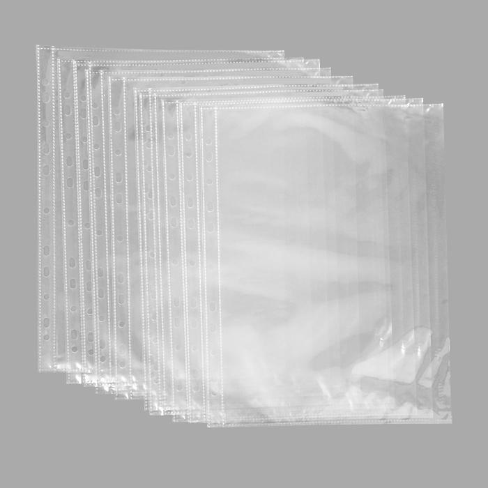 Файл-вкладыш Erich Krause Crystal Clear, с боковой загрузкой, формат А430636Прозрачный перфофайл Erich Krause Crystal Clear обеспечивает сохранность листов, надежно защищая документы от грязи и пыли. Боковая загрузка документов со стороны механизма архивной папки предотвращает выпадение листов из перфофайла при транспортировке. Изготовлен из высококачественной прозрачной полипропиленовой пленки и снабжен универсальной боковой перфорацией, совместимой со всеми видами кольцевых механизмов и скоросшивателей. Характеристики: Размер файла: 30,5 см x 23,5 см. Формат: А4. Количество: 10 шт. Изготовитель: Китай.
