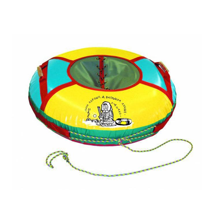 Санки надувные Люкс, средниеАрт2121123004206Любимая зимняя забава - это кататься с горки. Надувные санки Люкс - это яркие круглые санки, характеризующиеся улучшенным дизайном, они выполнены из износостойкого материала и отлично выдерживают повышенные нагрузки. Санки оборудованы плотной лентой для удобной буксировки, конструкция которой, при рывке, распределяет нагрузку равномерно по всему периметру и двумя усиленными ручками. Надувные санки Люкс - это отличный вариант для тех, кто любит весело проводить время, катаясь с горки с утра до ночи. Также, такие санки станут отличным подарком любителю экстремального спорта и отдыха на свежем воздухе. Комплектация: автомобильная камера согласно ТУ, упаковочный чехол, инструкция по эксплуатации на русском языке.