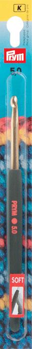 Крючок для вязания Prym, диаметр 5 мм195178Крючок предназначен для вязания и плетения из ниток, ручного изготовления полотна. Вязание крючком применяют как для изготовления одежды целиком, так и отделочных элементов одежды или украшений. Крючки диаметром 3-6 мм употребляют для вязания изделий из толстой шерстяной или синтетической пряжи. Правильное соотношение - толщина крючка должна быть почти в два раза больше толщины нитки. Вы сможете вязать для себя, делать подарки друзьям. Рукоделие всегда считалось изысканным, благородным делом. Работа, сделанная своими руками, долго будет радовать Вас и Ваших близких. А подарок, выполненный собственноручно, станет самым ценным для друзей и знакомых.