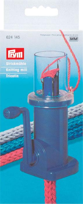 Машинка для плетения шнуров Prym, на 4 петли, полуавтоматическая624145Машинка Prym для плетения шнуров на 4 петли, выполненная из пластика, имеет полуавтоматический механизм. Машинка позволяет легко и быстро сделать красивый эластичный шнур для любого изделия или для отделки декора интерьера.