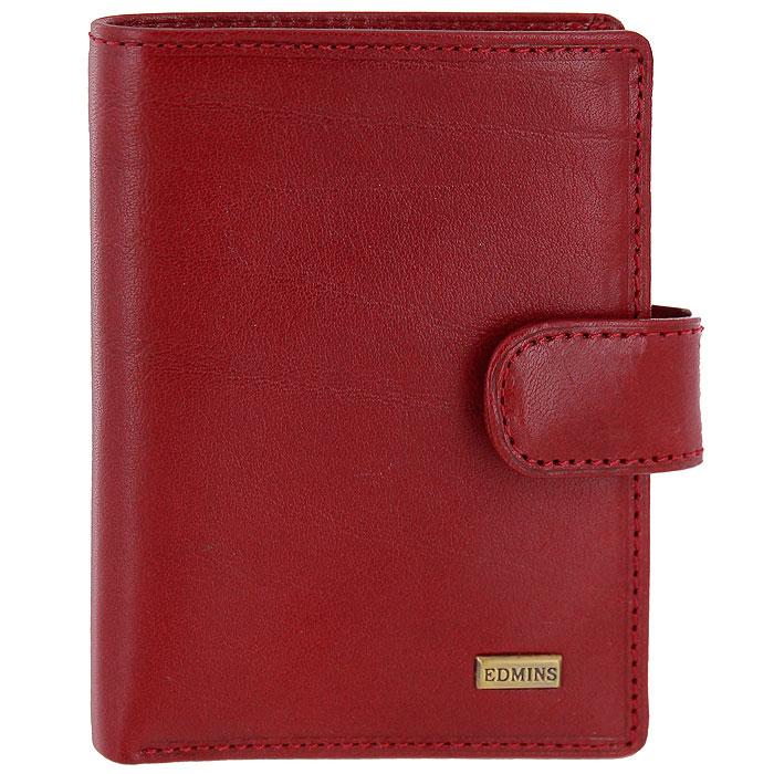 Визитница Edmins, цвет: красный. 2252 A ML
