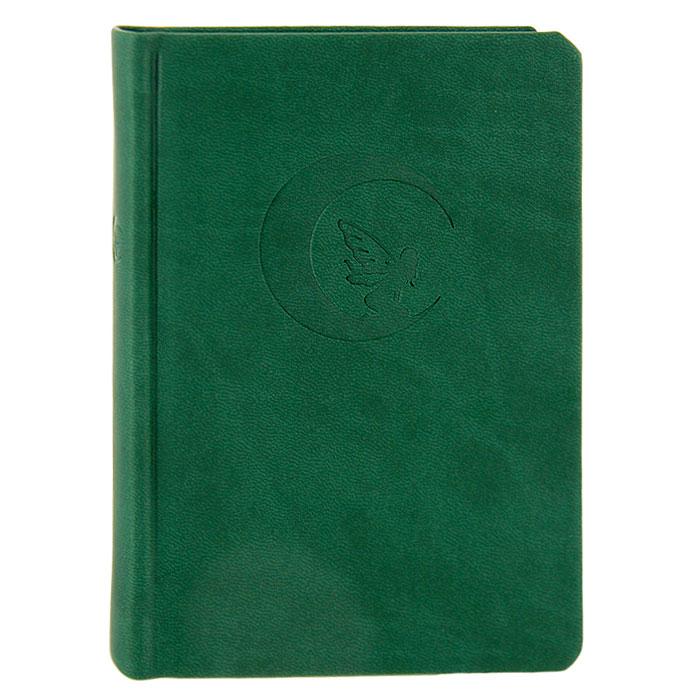 Дневник для записей Lo Scarabeo Лунная фея, 192 страницы. JOU10JOU10Дневник Лунная фея в твердом переплете прекрасно подходит и для записей личного характера, и как оригинальный подарок для любителей всего таинственного и неординарного. Обложка обтянута мягким приятным на ощупь материалом зеленого цвета и декорирована тиснением в виде феи, сидящей на Луне. Внутренний блок выполнен из нелинованной белой бумаги, а ляссе делает значительно удобнее поиск нужной страницы.
