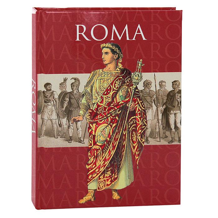 "Дневник для записей Lo Scarabeo ""Roma"", 224 страниц. JOU19"