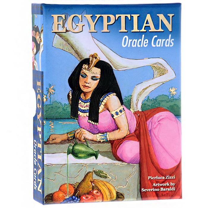 Оракул Lo Scarabeo Египетский оракул, 52 карты, инструкция на русском языке. OR01OR01В Египетском Оракуле использован символический язык магической культуры священного Нила, опирающийся на историческое наследие и археологические открытия древнего Египта. Мифологические образы, священные животные, иероглифические и магические знаки помогают заглянуть в будущее, переплетающееся с настоящим, пронизанным мистикой этих прообразов.