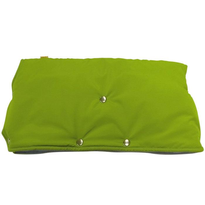 """Муфта для рук на коляску """"Чудо-Чадо"""", флисовая, цвет: светло-зеленый. МКФ04-000"""