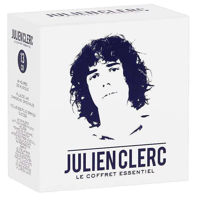 Julien Clerc. Le Coffred Essentiel (13 CD) 2012 13 Audio CD