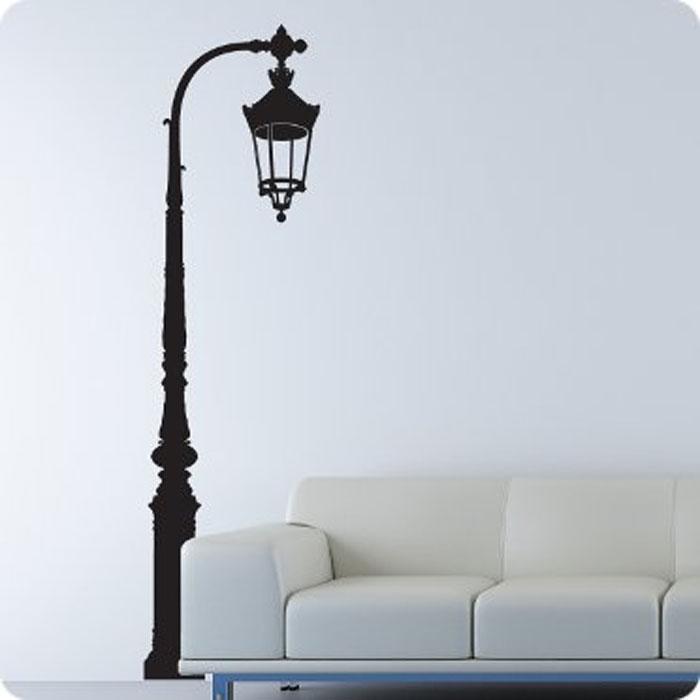 Стикер Paristic Фонарь в сквере, цвет: черный, 138 см х 37 смПР01138Добавьте оригинальность вашему интерьеру с помощью необычного стикера Фонарь в сквере. Изображение на стикере выполнено в форме фонаря в сквере черного цвета. Великолепное исполнение добавит изысканности в дизайн вашего дома. Необыкновенный всплеск эмоций в дизайнерском решении создаст утонченную и изысканную атмосферу не только спальни, гостиной или детской комнаты, но и даже офиса. Стикер выполнен из матового винила - тонкого эластичного материала, который хорошо прилегает к любым гладким и чистым поверхностям, легко моется и держится до семи лет, не оставляя следов. Сегодня виниловые наклейки пользуются большой популярностью среди декораторов по всему миру, а на российском рынке товаров для декорирования интерьеров - являются новинкой.