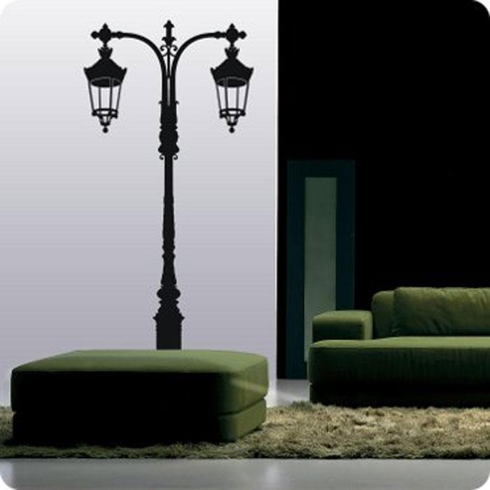 Стикер Paristic Фонарь на аллее, цвет: черный, 220 см х 96 смПР01140Добавьте оригинальность вашему интерьеру с помощью необычного стикера Фонарь на аллее. Изображение на стикере выполнено в форме фонаря на аллее черного цвета. Великолепное исполнение добавит изысканности в дизайн вашего дома. Необыкновенный всплеск эмоций в дизайнерском решении создаст утонченную и изысканную атмосферу не только спальни, гостиной или детской комнаты, но и даже офиса. Стикер выполнен из матового винила - тонкого эластичного материала, который хорошо прилегает к любым гладким и чистым поверхностям, легко моется и держится до семи лет, не оставляя следов. Сегодня виниловые наклейки пользуются большой популярностью среди декораторов по всему миру, а на российском рынке товаров для декорирования интерьеров - являются новинкой.