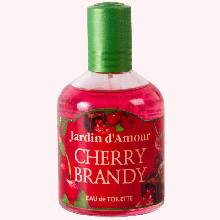 Туалетная вода Jardin dAmour Cherry Brandy, 100 мл2001009278Туалетную воду Jardin dAmour Cherry Brandy можно использовать как обычную туалетную воду и как ароматизатор пространства для дома и машины. Яркий радостный аромат Cherry Brandy с нотами вишневого ликера освежает, способствует отличному настроению, заряжает позитивной энергией молодости и здоровья. Характеристики: Объем: 100 мл. Артикул: 2001009278.