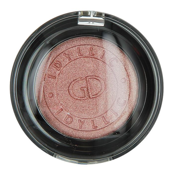 GA-DE Тени для век Idyllic Metallic, тон №83, цвет: rose gold, 2,3 г