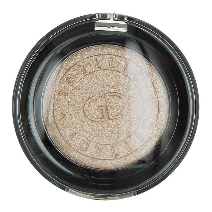 GA-DE Тени для век Idyllic Metallic, тон №81, цвет: metal pearl, 2,3 г191600081Тени для век GA-DE Idyllic Metallic придадут шелковистый блеск и нежный металлический отлив. При использовании влажного аппликатора достигается более интенсивный тон. Тени содержат комплекс Symvital в который входят компоненты anti-aging для повышения упругости кожи, а также витамины-антиоксиданты (А, В и Е), которые защищают и восстанавливают кожу.