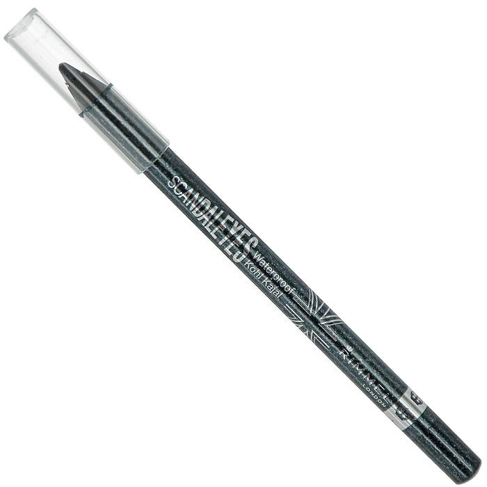 Rimmel Карандаш для век водостойкий ScandalEyes Kohl Kajal, тон №002, цвет: сверкающий черный, 1,2 г34788273002Карандаш для век водостойкий Rimmel ScandalEyes Kohl Kajal поможет создать яркий стойкий макияж на весь день. Карандаш обладает мягкой водостойкой формулой, легко наносится, не скатывается, не стирается, не течет. Устойчив к смазыванию и влажности, не оставляет следов. Карандаш подходит для внутреннего века. Безопасен для чувствительных глаз. Характеристики: Вес: 1,2 г. Тон: №002 (сверкающий черный). Производитель: Франция. Артикул: 34788273002. Товар сертифицирован.