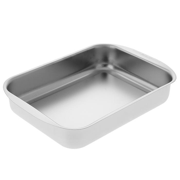 Форма для выпечки Frabosk, 22 х 30 см382.30.Прямоугольная форма для выпечки Frabosk, выполненная из пищевой нержавеющей стали 18/10, будет отличным выбором для всех любителей домашней выпечки. Мелко-ребристая поверхность с эффектом антипригарного покрытия препятствует пригоранию и обеспечивает легкую очистку после использования. С такой формой вы всегда сможете порадовать своих близких оригинальной выпечкой.