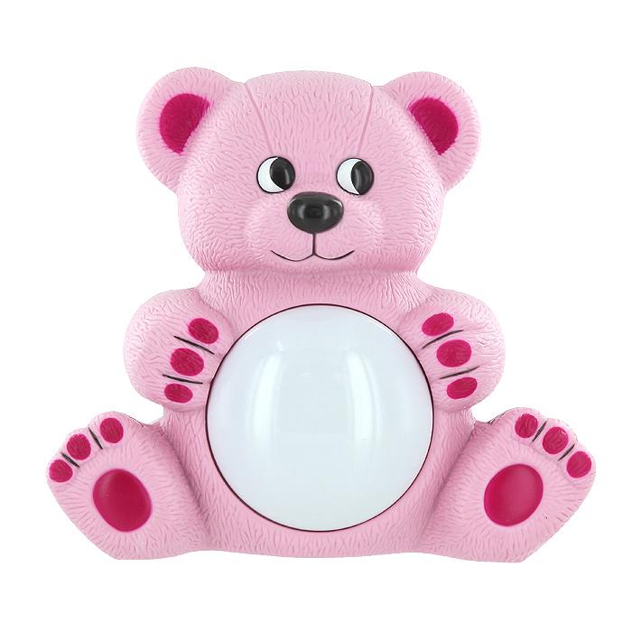 Maman Музыкальный светильник Мишутка цвет розовый20408_розовыйМузыкальный светильник Мишутка с лампой на животе порадует своим забавным дизайном каждого малыша и, без сомнения, послужит украшением любой детской спальни. Светильник работает в двух режимах. Режим Автоматический - мягкая музыка и ночник включается автоматически. В дальнейшем активируется звуком. Режим Ночник - ночник включается и выключается при помощи нажатия на плафон.