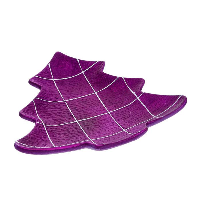 Блюдо декоративное House & Holder, цвет: фиолетовый DHS17733-1GDHS17733-1GБлюдо декоративное House & Holder, изготовленное из фаянса, оформлено в виде елочки фиолетового цвета. Изделие декорировано белыми блестящими полосками в форме квадратов. Такое блюдо станет достойным украшением вашего интерьера и придаст ему нотки необычности и изысканности. Блюдо House & Holder можно преподнести в качестве оригинального подарка или сувенира.