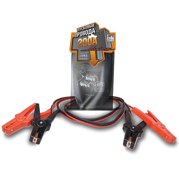 Провода прикуривателя Airline SA-200-02 200 АSA-200-02Провода вспомогательного запуска Airline SA-200-02 200 А предназначены для запуска легковых автомобилей. Данная модель имеет ряд преимуществ, увеличенные зажимы с широким углом захвата позволяют с легкостью крепить провода на любой тип клемм аккумулятора. Провод и зажимы полностью заизолированы с «нерабочей» стороны, что исключает риск случайного замыкания контактов и вывода из строя электронной системы автомобиля. Характеристики: Материал: медь, резина, пластик. Длина кабеля: 2 м. Диаметр кабеля: 8 мм. Размер упаковки: 24 см х 8 см х 46 см. Срок годности: 2 года.