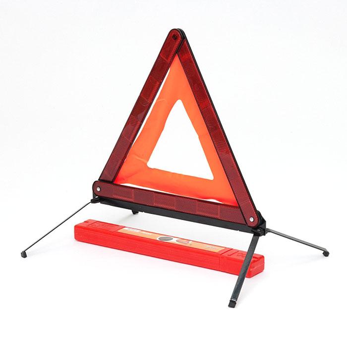 Знак аварийной остановки Airline с металлическим основанием. AT-03AT-03Знак аварийной остановки применяется для обозначения транспортного средства при вынужденной остановке. Необходим для комплектования каждого автомобиля. Знак аварийной остановки имеет металлическое основание, которое дополнительно утяжелено железной вставкой, что предотвращает сдувание треугольника сильным ветром. Знак обладает хорошей видимостью для участников дорожного движения. Особенности знака: оснащен светоотражающими элементами безопасный, компактный пластиковый чехол для хранения знака в комплекте. Характеристики: Материал: пластик, маталл. Высота: 39 см. Размер упаковки: 43,5 см х 5,5 см х 3 см. Артикул: AT-03.