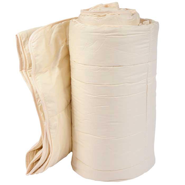 Одеяло Yorgan Dream, цвет: бежевый, 195 см х 215 см7103BОдеяло Yorgan Dream, наполнитель которого выполнен из льна, чрезвычайно долговечно. Лен - экологически чистое натуральное волокно. Наполнитель из льняного волокна способен впитывать влагу до 12% собственного веса за счет каппилярной структуры волокна, а также, что не менее важно, способен эту влагу быстро отдавать, обладает гигроскопичностью, гипоаллергенными и бактерицидными свойствами, не образует зарядов статического электричества. Одеяло упаковано в пластиковую сумку-чехол, закрывающуюся на застежку-молнию, с ручкой.