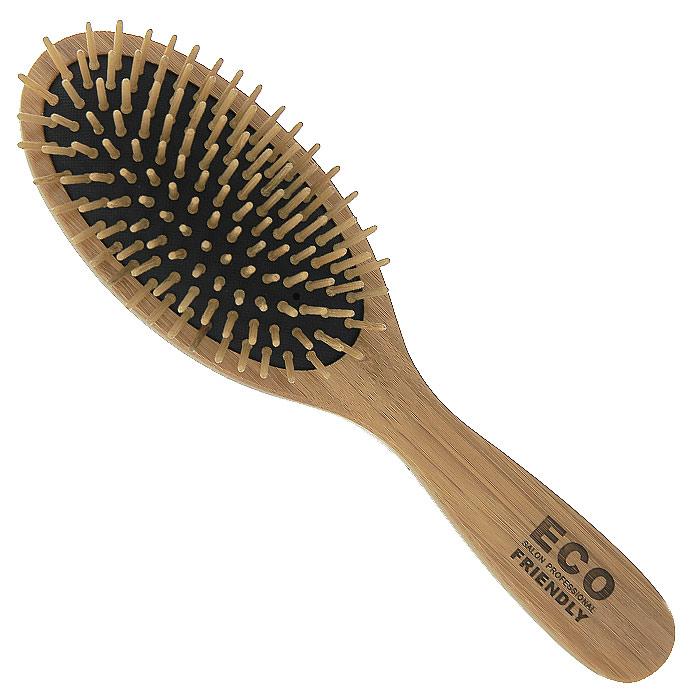 Salon Professional Массажная расческа339-73210BPМассажная расческа Salon Professional выполнена из натурального дерева и предназначена для расчесывания волос, массажа головы. Деревянные зубцы стимулируют рост волос и обеспечивают бережный уход за волосами.