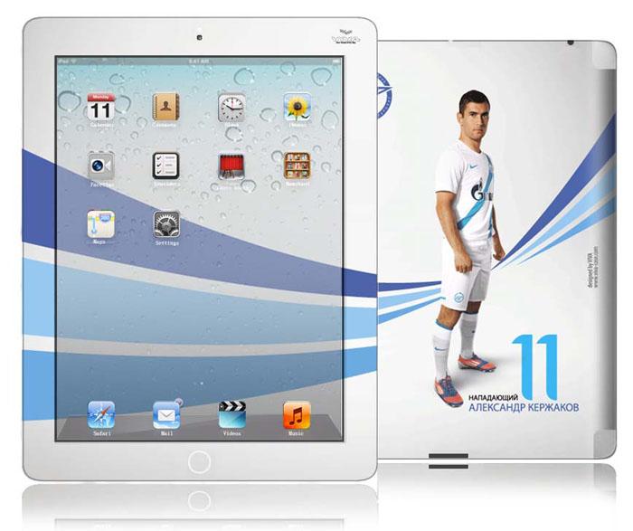 Виниловая наклейка на iPad, iPad 2 Зенит. VZ-IPA0004VZ-IPA0004Если вы счастливый обладатель iPad и не представляете свою жизнь без Зенита или же вы друг, коллега, родственник счастливого обладателя iPad и болельщика Зенита и желаете сделать ему незабываемый подарок, то наше предложение для вас. Наклейка для на iPad, iPad 2 коллекции Зенит Wave придаст устройству уникальный внешний вид. Она защитит переднюю и заднюю панели устройства от царапин, пыли. Легко наносится и удаляется, не оставляя следов на устройстве. А также вы всегда можете придать законченный вид вашему устройству, скачав с сайта www.viva-case.com обои в стиль наклейки. Все наклейки Vivacase серии Зенит печатаются на качественной виниловой пленке экологически чистыми красками. Они не выделяют вредных испарений и полностью безопасны для человека. Вся продукция лицензирована футбольным клубом Зенит! Характеристики: Материал: винил. Размер упаковки: 21 см х 28 см. Производитель: Китай. Артикул: VZ-IPA0004.