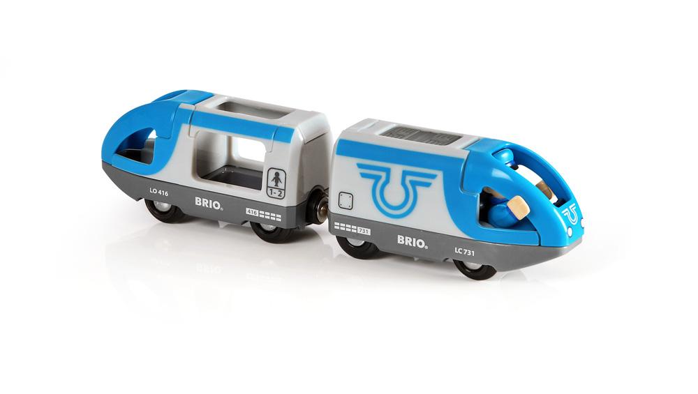 """Игровой набор Brio """"Поезд-экспресс с машинистом"""""""