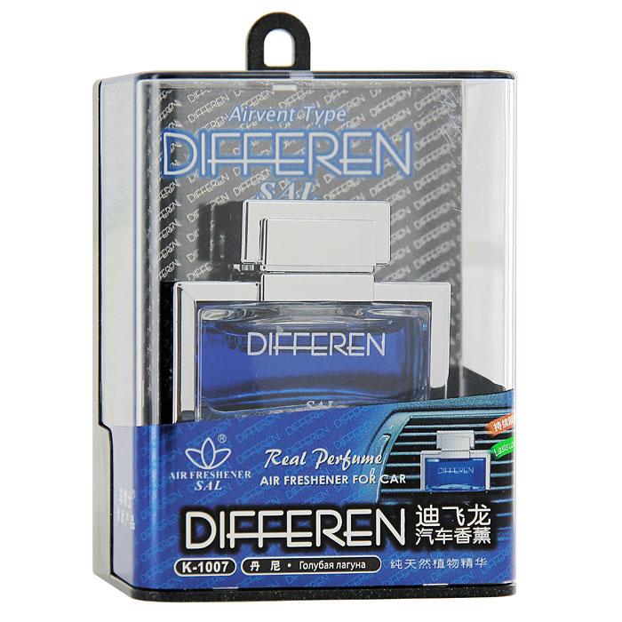 """Освежитель на дефлектор Differen """"Голубая лагуна"""", 12,5 мл, Autodoc"""