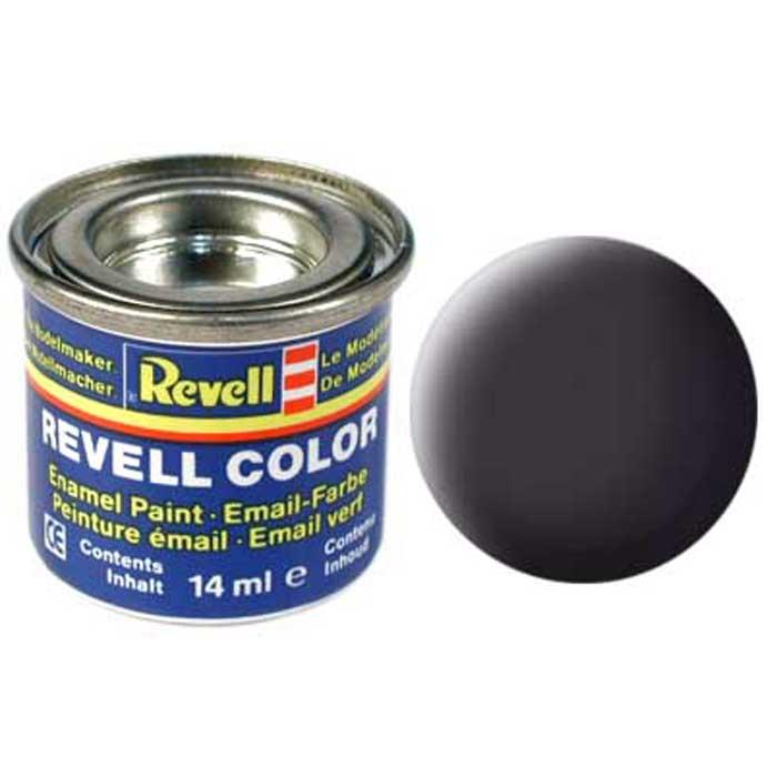 Revell Краска для моделей матовая №06 цвет битумно-черный 14 мл