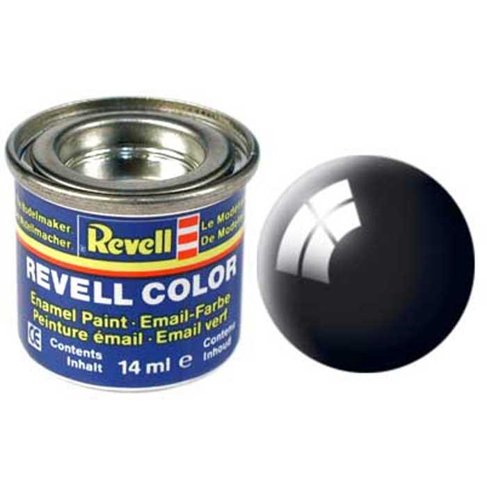 Revell Краска для моделей глянцевая №07 цвет черный 14 мл