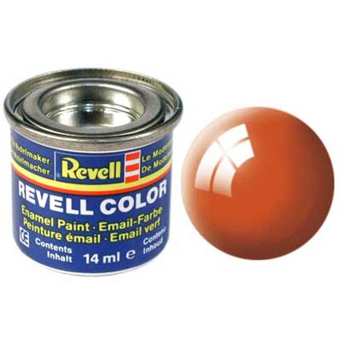 Revell Краска для моделей глянцевая №30 цвет оранжевый 14 мл