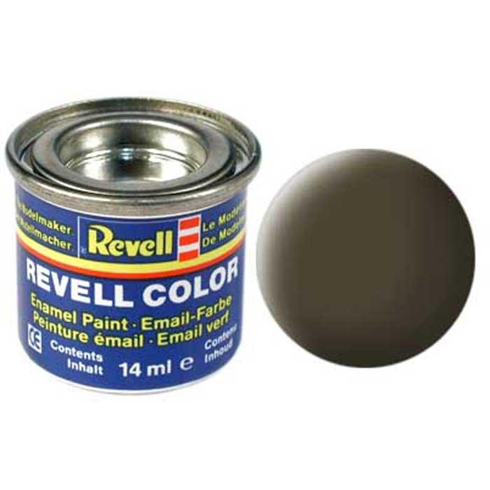 Revell Краска для моделей матовая №40 цвет черно-зеленый 14 мл