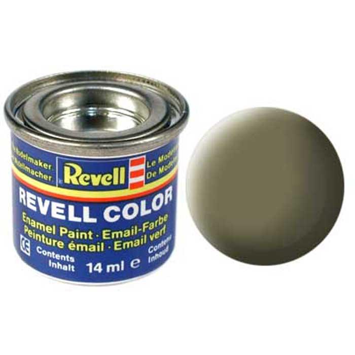 Revell Краска для моделей матовая № 45 цвет светло-оливковый 14 мл