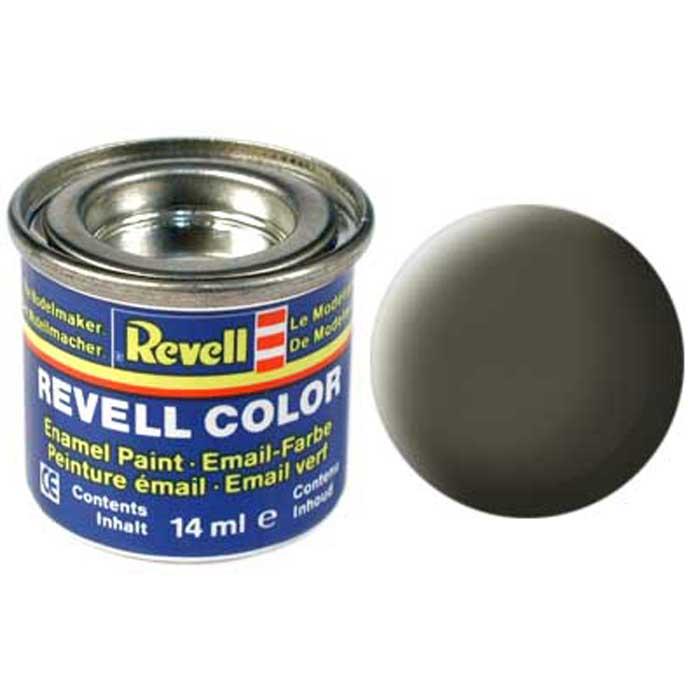 Revell Краска для моделей матовая №46 цвет НАТО-оливковый 14 мл