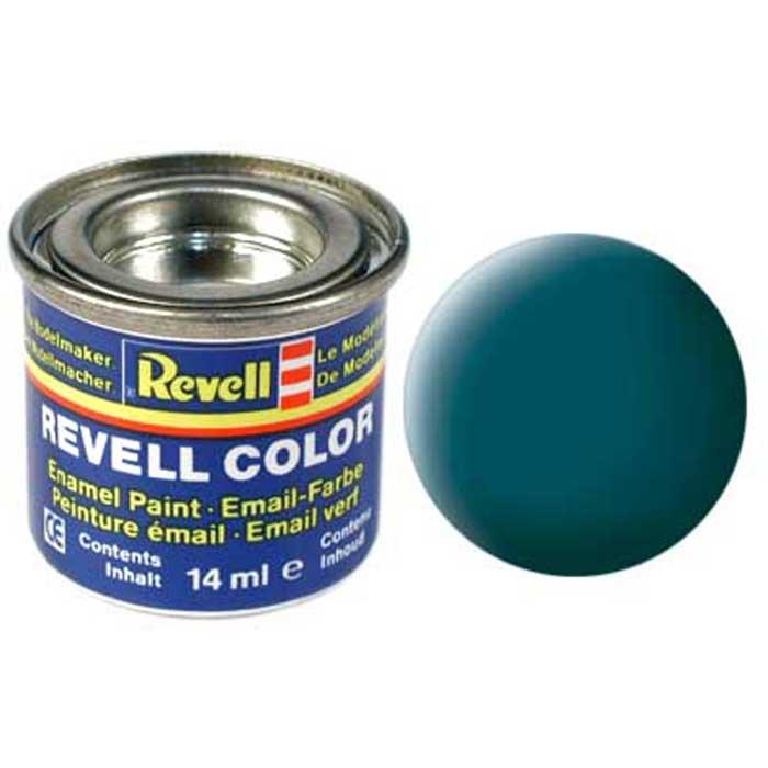 Revell Краска для моделей матовая №48 цвет зеленый морской 14 мл