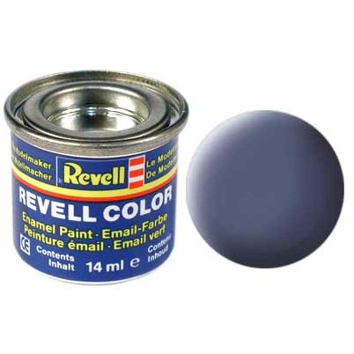 Revell Краска для моделей матовая №57 цвет серый 14 мл32157/РАЛ 7000Матовая краска Revell серого цвета может стать отличной базой для окрашивания сборных пластиковых моделей самолетов и кораблей. Краски Revell идеальны в применении: их не требуется разводить или тонировать, они готовы к применению сразу же после раскрытия упаковки. Краска упакована в экономичную банку, что позволяет экономично ее расходовать, а после использования банку можно закрыть крышкой, чтобы избежать высыхания.