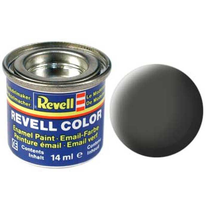 Revell Краска для моделей матовая №65 цвет бронзово-зеленый 14 мл32165/РАЛ 6031Матовая краска Revell бронзово-зеленого цвета идеально подходит для окрашивания моделей военной тематики. Вертолеты, истребители и космические корабли будут идеально смотреться, если в качестве базового цвета для их окрашивания будет использоваться именно этот цвет. Краска упакована в экономичную банку, что позволяет экономно ее расходовать, а после использования банку можно закрыть крышкой, чтобы избежать высыхания.