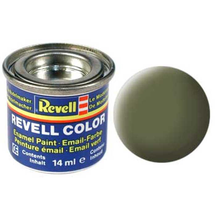Revell Краска для моделей матовая №68 цвет темно-зеленый 14 мл32168Матовая краска Revell темно-зеленого цвета предназначена для окрашивания сборной военной техники фирмы Revell. Краска упакована в экономичную банку, что позволяет экономно ее расходовать, а после использования банку можно закрыть крышкой, чтобы избежать высыхания.