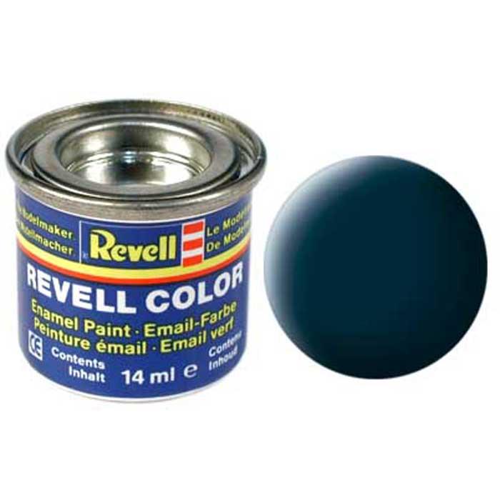 Revell Краска для моделей матовая №69 цвет серый гранит 14 мл32169/РАЛМатовая краска Revell цвета серый гранит - довольно редкий оттенок, используемый для окрашивания сборных моделей Revell. Краска упакована в экономичную банку, что позволяет экономно ее расходовать, а после использования банку можно закрыть крышкой, чтобы избежать высыхания.