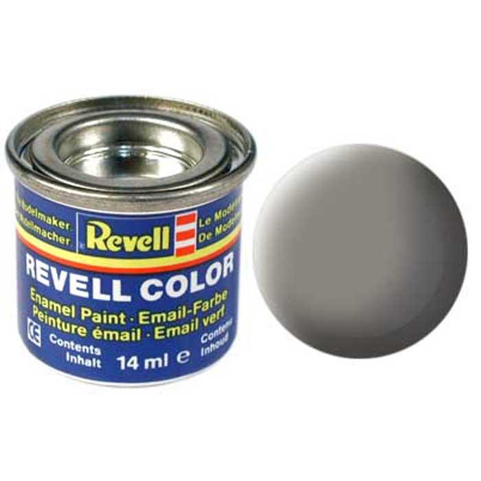 Revell Краска для моделей матовая №75 цвет каменно-серый 14 мл32175/РАЛ 7030Матовая краска Revell каменно-серого цвета предназначена для окраски сборных моделей самолетов и космических кораблей. Она очень удобна в применении, так как не растекается, не сбивается в комки, ровным слоем ложится на поверхность пластикового изделия. Краска упакована в экономичную банку, что позволяет экономно ее расходовать, а после использования банку можно закрыть крышкой, чтобы избежать высыхания.