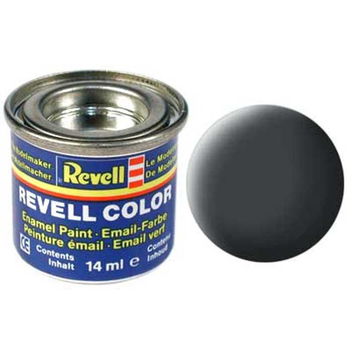 Revell Краска для моделей матовая №77 цвет серая пыль 14 мл32177/РАЛ 7012Матовая краска Revell цвета серой пыли станет отличным выбором для окрашивания моделей военной тематики. Качественное покрытие краски достигается благодаря особенным компонентам, которые входят в ее состав. Краска упакована в экономичную банку, что позволяет экономично ее расходовать, а после использования банку можно закрыть крышкой, чтобы избежать высыхания.