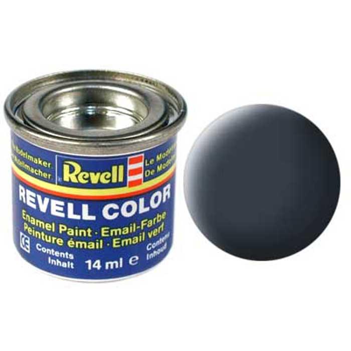 Краска для моделей Revell, матовая, №79, цвет: сине-серый32179/РАЛ 7031Матовая краска Revell сине-серого цвета идеальна для окрашивания самолетов, а также всех моделей, связанных с морской тематикой. Если необходимо сделать более светлый или темный оттенок, то лучше всего использовать несколько красок, смешивая их между собой. При этом качество и консистенция красок не ухудшится, так как их состав практически одинаков, отличаются только тонирующие компоненты.