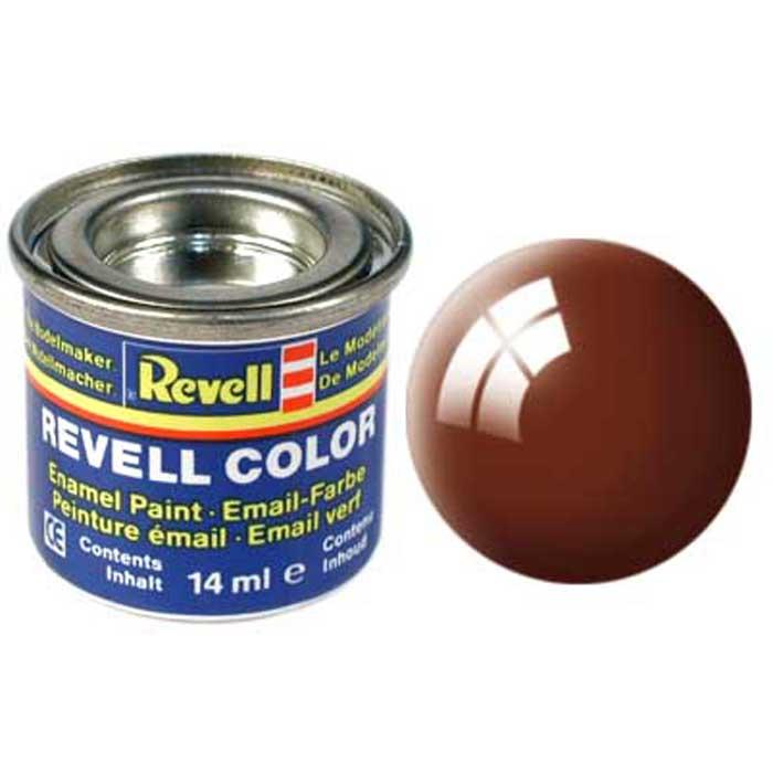 Revell Краска для моделей глянцевая №80 цвет коричневый 14 мл