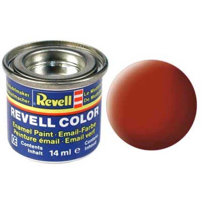 Revell Краска для моделей матовая №83 цвет ржавчина 14 мл32183Матовая краска Revell цвета ржавчины имеет высокое качество, отличающее всю продукцию торговой марки Revell. Краска предназначена для окрашивания сборных моделей.
