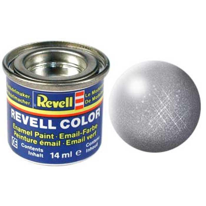 Revell краска для моделей №91 цвет железо металлик 14 мл32191Матовая краска Revell железо металлик - идеальный вариант, если необходимо придать готовому пластиковому изделию металлический эффект - за это в составе краски отвечает специальный компонент. Краска упакована в экономичную банку, что позволяет экономично ее расходовать, а после использования банку можно закрыть крышкой, чтобы избежать высыхания.