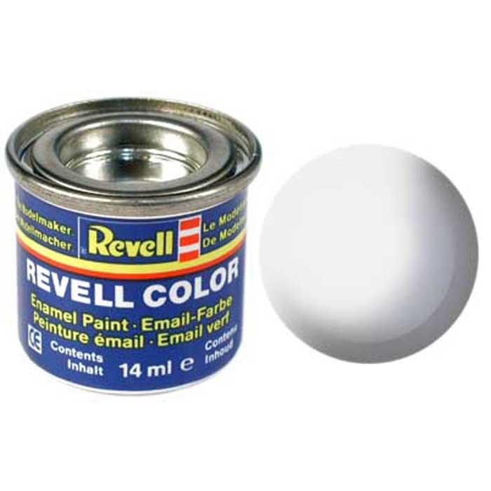 Revell Краска для моделей шелково-матовая №301 цвет белый 14 мл32301/РАЛ 9010Краска-эмаль Revell белого цвета представляет собой синтетическую смоляную эмаль, не повреждающую пластиковые поверхности моделей. Краска предназначена для окрашивания сборных масштабных моделей. Все оттенки эмали, кроме сигнальных цветов, могут смешиваться между собой, а для разбавления используется Revell Color Mix. Краска упакована в экономичную банку, что позволяет экономично ее расходовать, а после использования банку можно закрыть крышкой, чтобы избежать высыхания.