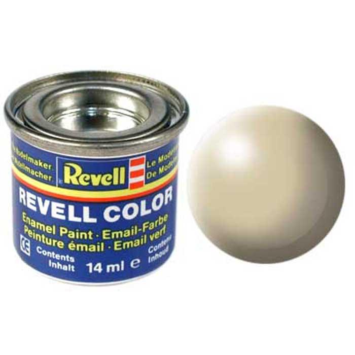 Краска для моделей Revell, шелково-матовая, №314, цвет: бежевый32314/РАЛ 1001Краска-эмаль Revell бежевого цвета служит для окрашивания пластиковых поверхностей сборных моделей Revell. Особый состав краски гарантирует отсутствие повреждения пластиковых поверхностей. В случае необходимости различные оттенки эмали могут быть смешаны друг с другом, для разбавления используется Revell Color Mix. Краска упакована в экономичную банку, что позволяет экономично ее расходовать, а после использования банку можно закрыть крышкой, чтобы избежать высыхания.